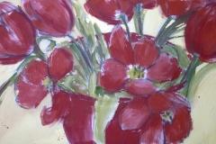 Tulipes rouges 93x60